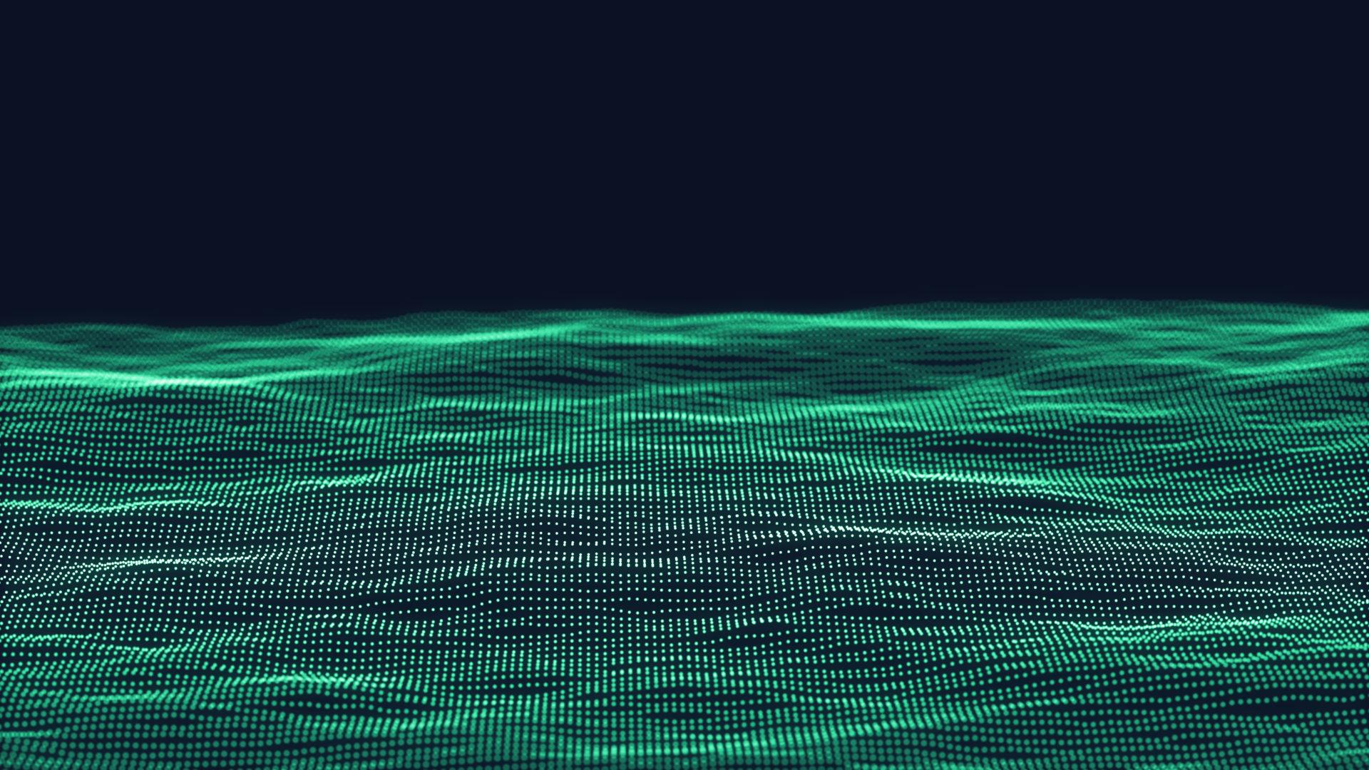 rappresentazione verde di un data lake